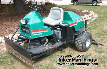 Tinker Man Things Cushman Groom Master Tractor (1)