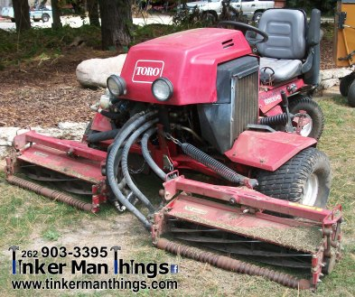 Tinker Man Things Toro 2600 Reelmaster Tractor (1)