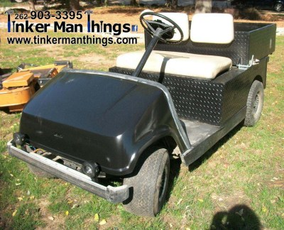 Tinker Man Things 1992 Yamaha Gas Golf Cart (1)