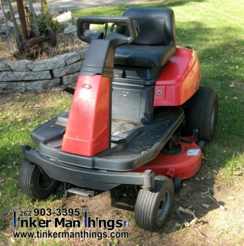 Tinker Man Things Simplicity Zero Turn Riding Lawn Mower (1)