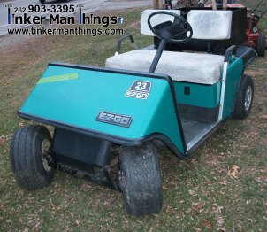 Tinker Man Things 1987 EZ GO Golf Cart (1)