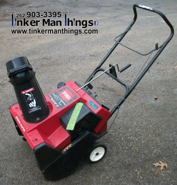 Tinker Man Things Toro Snowblower (1)